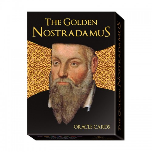 The Golden Nostradamus Oracle Cards, instr.PL