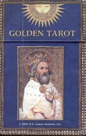 Golden Tarot by Kat Black, instr. PL