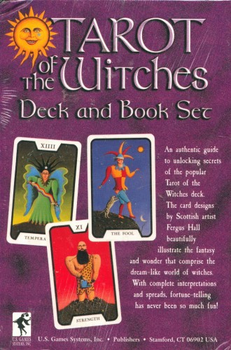 Tarot of the Witches set