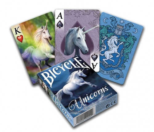 Karty Bicycle Unicorns - Anne Stokes