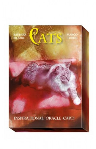Cats Inspirational Oracle Cards instr. po polsku